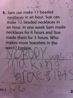 A 3rd grader is smarter than the test makers. | 10 More Funny Grammar And SpellingMistakes
