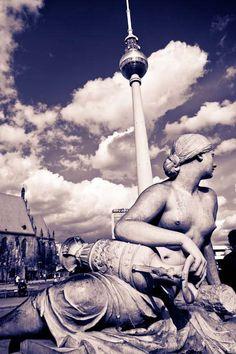 Alexanderplatz Berlin, Germany.  Our tips for things to do in Berlin: http://www.europealacarte.co.uk/blog/2010/10/11/things-to-do-in-berlin/.