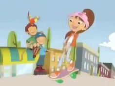 The theme song to Maya and Miguel I don't own this. Maya and Miguel belongs to Scholastic. Pbs Kids, Kids Tv, Movie Intro, Theme Song, Old And New, Maya, Childhood, Animation, Make It Yourself