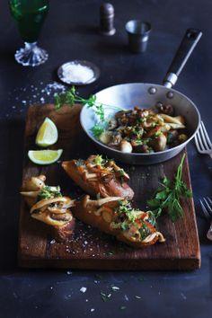 Garlic & SAge Wild Mushrooms  |  Crush 38