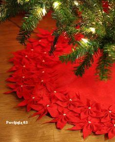 Как пошить шикарную подставку под елку своими руками - Perchinka63
