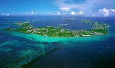 beautiful Bermuda 2 miles wide ~ 17 miles long....