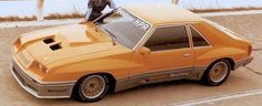 Only 10 of these McLaren Mustangs were ever built in the 80s.