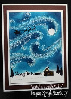 Magic At Christmas – Stampin' Up! Card