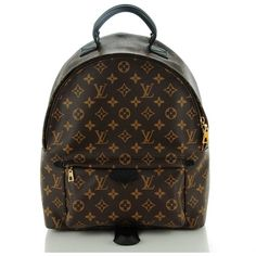 LOUIS VUITTON Monogram Palm Springs Backpack MM ❤ liked on Polyvore  featuring bags, backpacks, zipper bag, knapsack bag, palm tree backpack, louis  vuitton ... 4ef6df47fec