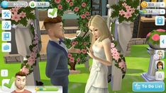 Guide of The Sims Mobile Best Apps, Bridesmaid Dresses, Wedding Dresses, Funny Games, More Fun, First Time, Sims, Bridesmade Dresses, Bride Dresses