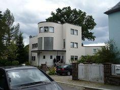 Bauhaus building in Chemnitz