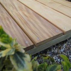 Q-Deck Garapa Kiln Dried Hardwood Decking 21 x 145mm