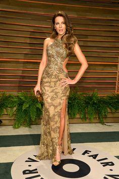 Kate Beckinsale Cutout Dress - Fashion Lookbook - StyleBistro