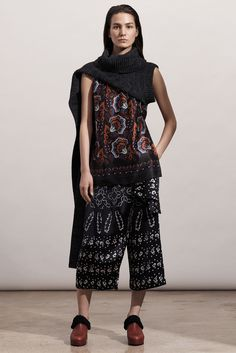 Thakoon Pre-Fall 2015 Fashion Show