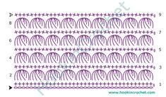 HookinCrochet™ - Crochet Symbols Font Software