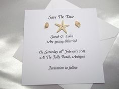 Personalised Save The Date Cards/Wedding Invitations Beach/Tropical/Abroad | eBay