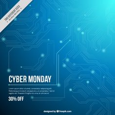 Discover the best free resources of Technology Vector Free Download, Sale Banner, Cyber Monday, Lorem Ipsum, Web Design, Learning, Backgrounds, Poster Templates, Color Azul