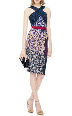 LN Printed Crepe-Jersey Dress by Peter Pilotto - Moda Operandi