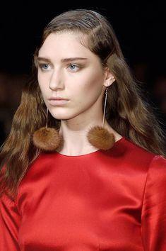 Blumarine at Milan Fashion Week Fall 2016 - Details Runway Photos