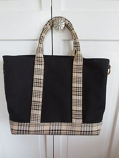 5/A Baker by Amberhill Limited Edition Ladies Tote / Purse Plaid