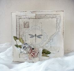 Beautiful card by Minna, featuring the Shoreline Treasures collection