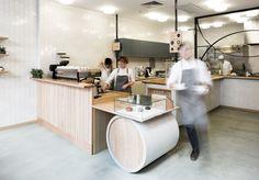 Lobby Interior, Cafe Interior Design, Retail Interior, Commercial Interior Design, Commercial Interiors, Cafe Restaurant, Restaurant Design, Restaurant Interiors, Cashier Counter Design