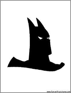 Bat Symbol Stencil Batman Pic   Nicky   Pinterest ...