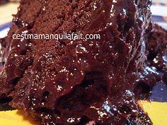 gateau au chocolat au micro onde