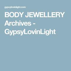 BODY JEWELLERY Archives - GypsyLovinLight