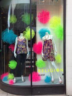 Neon Religion Window. W&G Colchester.