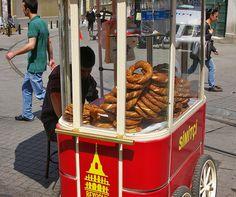 Appetite- Pretzel cart for the grounds