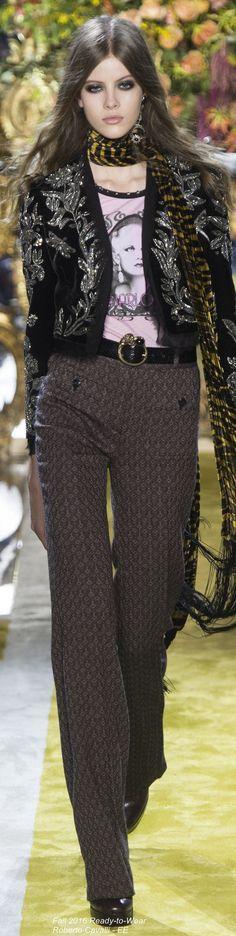 Fall 2016 Ready-to-Wear Roberto Cavalli