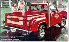 old trucks with stacks | Dodge Warlock 78