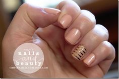 Essie Worth the Wait Bridal Collection with Jamberry Gold Strip Clear Nail Wrap