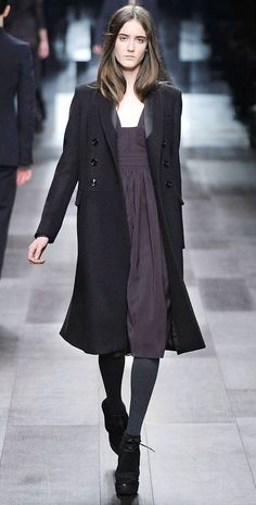 Burberry Prorsum Milan Fashion Week Fall 2009 Model Amanda Laine