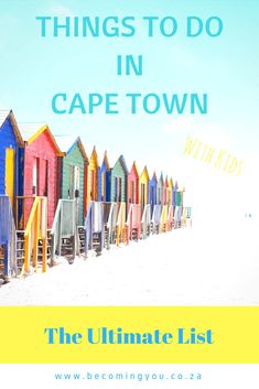 The ultimate list of the best things to do in Cape Town with kids, even in bad weather. or the endlessly long 3 week winter school holidays!
