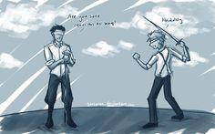Blindfold - Alek and Deryn  #Leviathan