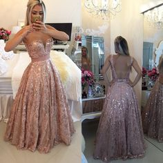 Backless Prom Dress,Beaded Prom Dress,Fashion Prom Dress,Sexy Party Dress,Custom Made Evening Dress