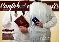 Confabula - UPMS medical university magazine 2014 may cover photo & concept
