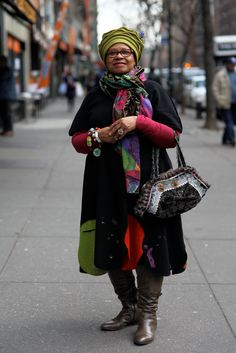 ADVANCED STYLE is a blog dedicated to fabulous, fashionable folks over the age of 60.