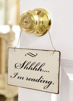 "! ""Jadranka Gospic"" ! / !!! The secrets of happiness !!! / Shhhh...I'm reading."