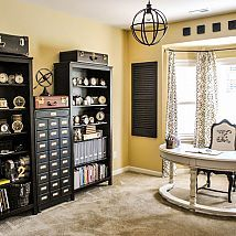 THIS is a craft room?!  Awesome!