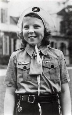 Prinses Beatrix in earlier years