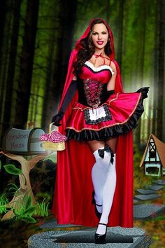 2016 New Arrival Halloween Little Red Riding Hood Erotic Christmas Costume Queen Disfraz Mujer Disfraces Adultos Cosplay Red Costume, Sexy Halloween Costumes, Cosplay Costumes, Alice Halloween, Party Costumes, Christmas Costumes, Halloween Dress, Adult Halloween, Halloween Cosplay