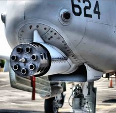 A-10 gun, A-10 facts