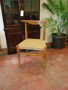 Hans Wegner  inspired dinning chair made in teak with jute string seat.