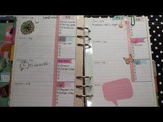 Plan with me - Semana em tom pastel