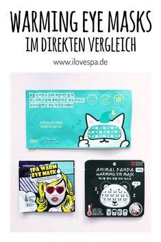 Korean Beauty Heating Eye Masks - 3 warme Augenmasken aus dem Bereich K-Beauty im Test