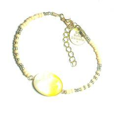 DW Boho Jewels bracelet - Hello Yellow door DWBohoJewels op Etsy