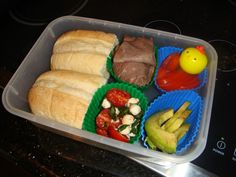Lunch #1: Mini Sandwiches   this looks edible