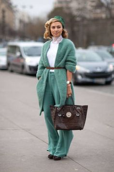 All of the latest street style from Paris Couture Week. Click for more!