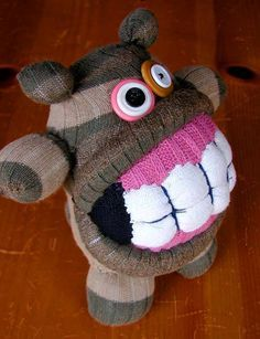 sock monster - Google Search