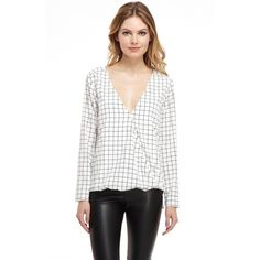 The Kate Wrap Blouse #style #fashion