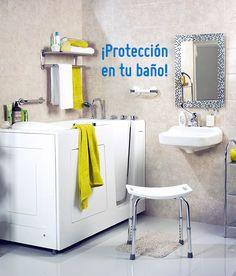 Mantén tu baño protegido para toda tu familia. #Baño #Seguridad #Homecenter #Sodimac